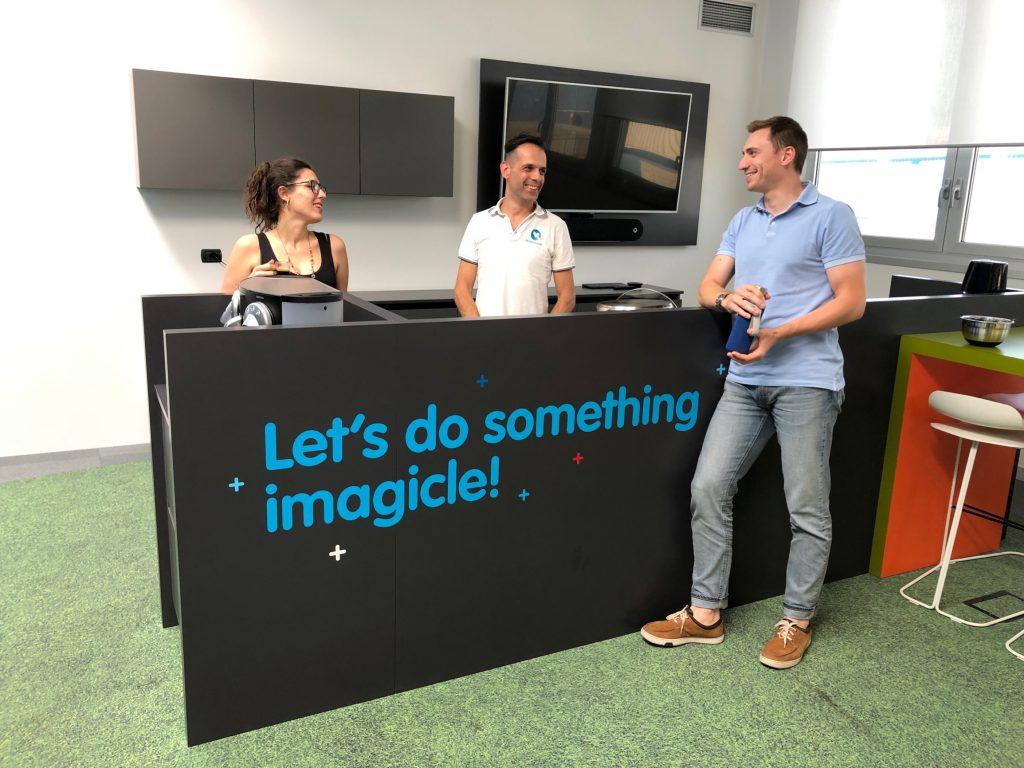Imagicle marketing team