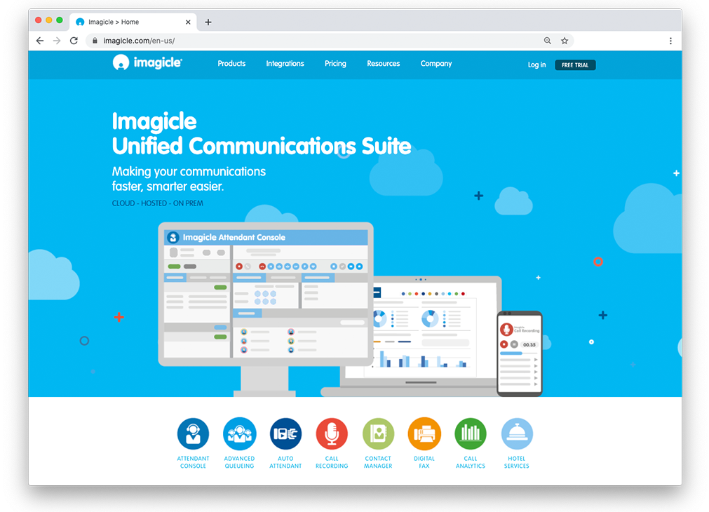 imagicle homepage